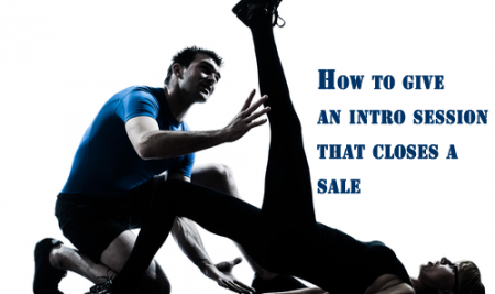 Structuring your 1st PT session to increase your chance of selling